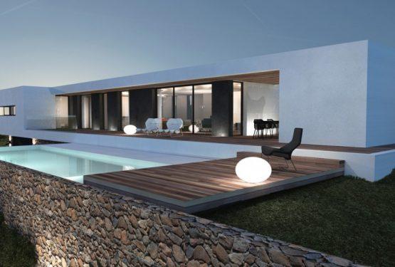 Maison moderne Aix-en-Provence, par Jy Arrivetz architecte
