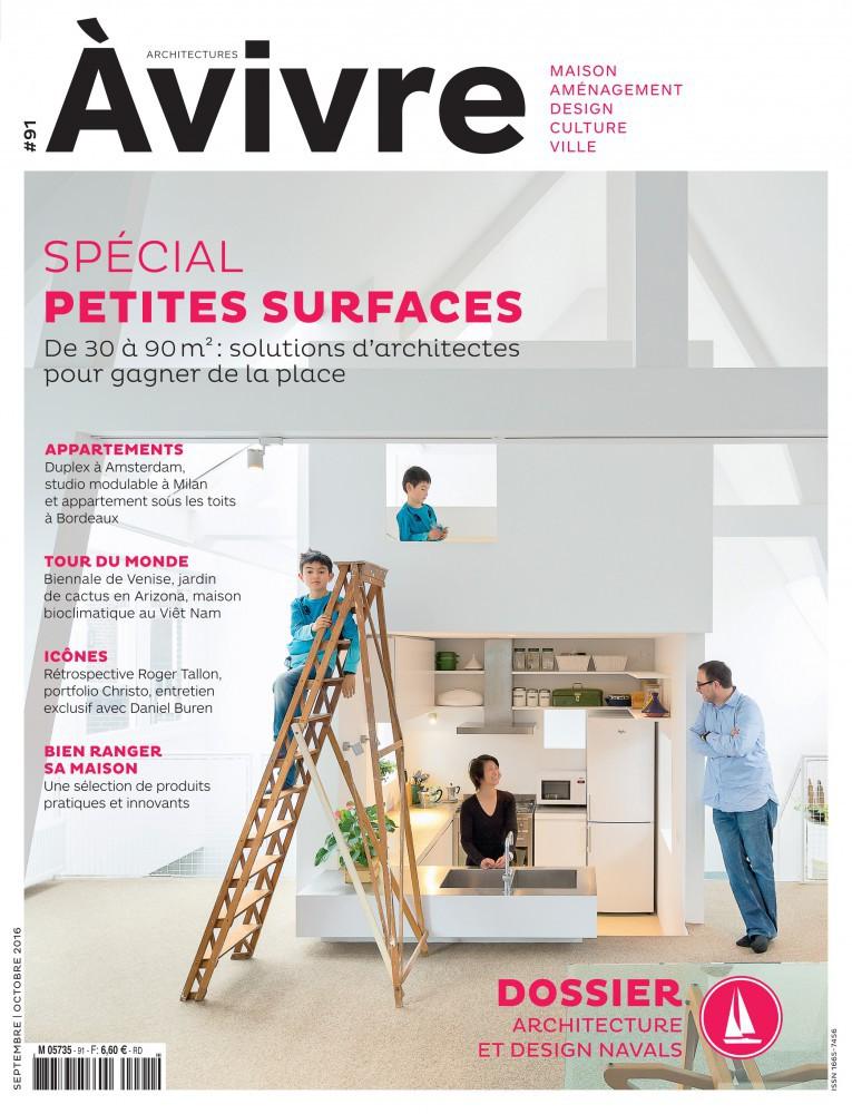 Architectures vivre n 91 par vivre magazine maison for Architecture a vivre magazine