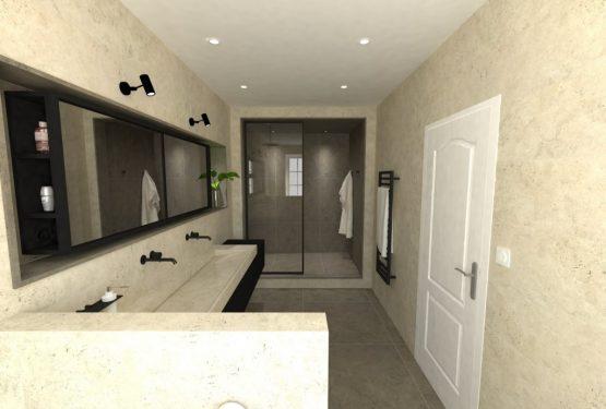 Aménagement d'une salle de bain, par Fabien Junique – La fable