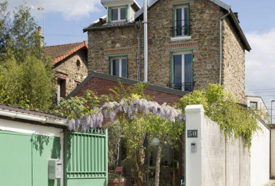 Extension de maison à Vanves, par Agnès & Agnès architecture