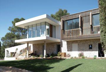 Extension d'une Maison familiale, Le Tholonet [13], par Champsaur Architecture