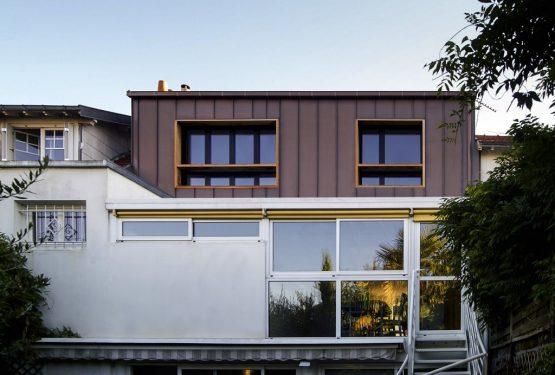 PROJET D: Surélévation d'une maison individuelle, par PLAST Architectes