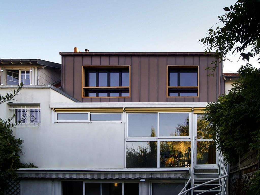projet d sur l vation d une maison individuelle par plast architectes maison d 39 architecte. Black Bedroom Furniture Sets. Home Design Ideas