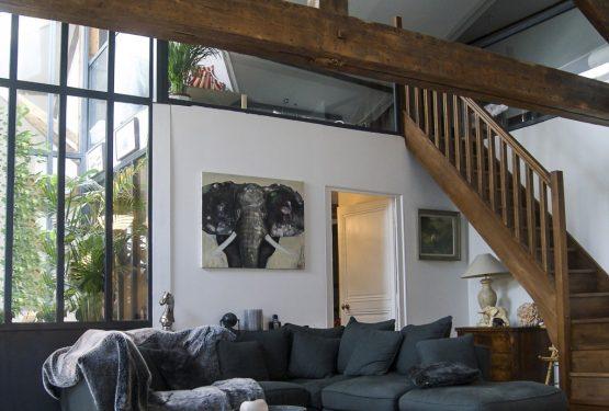 PROJET L: Réhabilitation de greniers en appartement familial, par PLAST Architectes