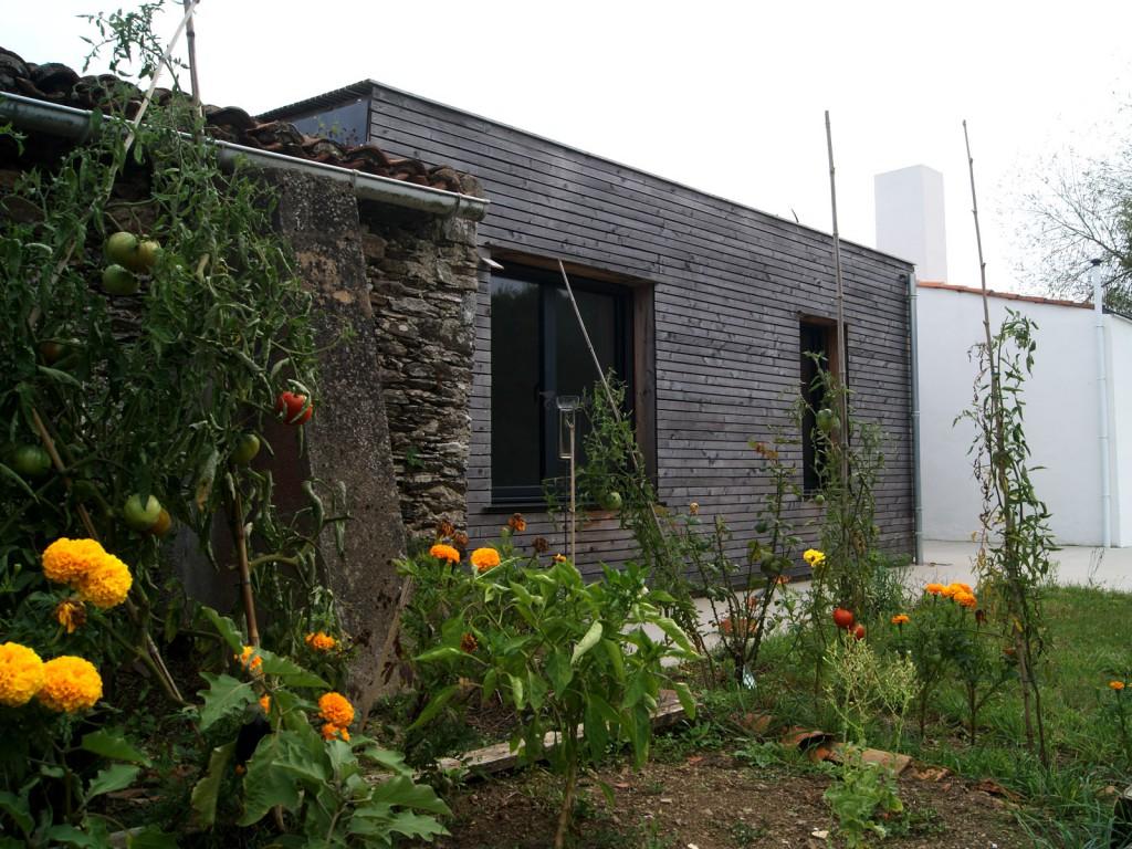 projet l r habilitation et extension d une maison individuelle par plast architectes maison. Black Bedroom Furniture Sets. Home Design Ideas