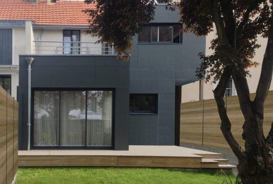 PROJET M: Réhabilitation et extension d'une maison d'habitation, par PLAST Architectes