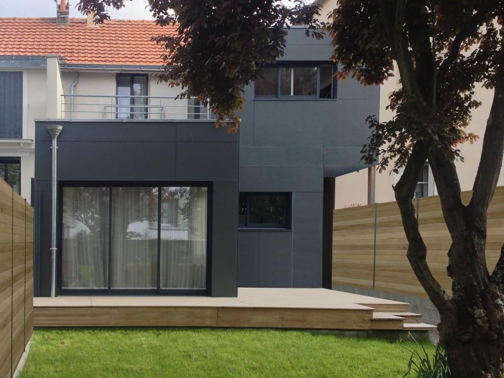 Projet extension maison trendy amazing with logiciel for Extension maison osb