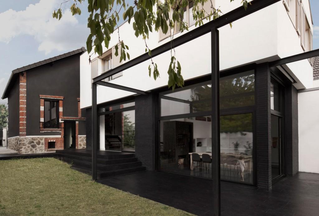 R-Houilles, Extension D'Une Maison. Étendre Sans Annihiler, Par