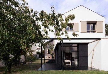 maison neuve orvault par aam architecture maison d 39 architecte. Black Bedroom Furniture Sets. Home Design Ideas