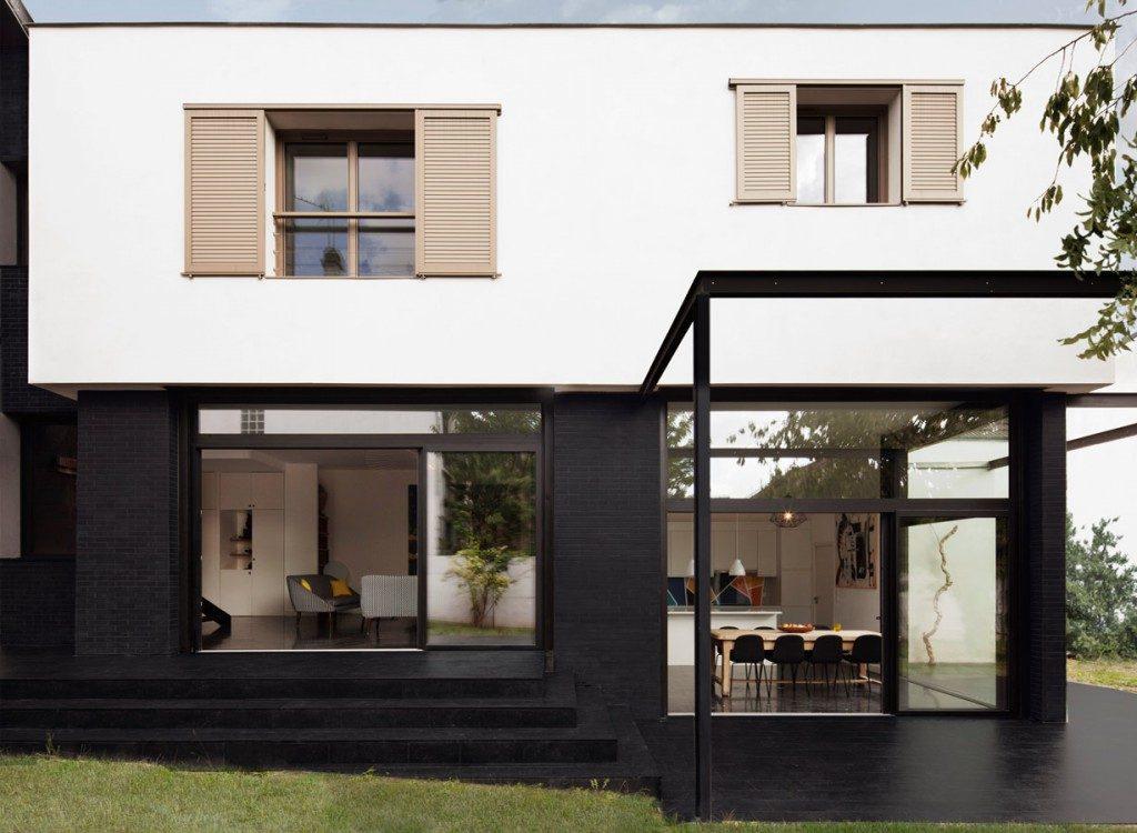 R houilles extension d une maison tendre sans annihiler for Une architecte