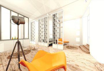Appartement Boulevard des Etats-Unis à Vichy, par Florent Doux Architecte