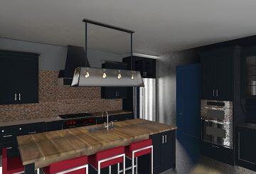 Projet de rénovation d'une maison individuelle à Beaumont, par Homedag Design Intérieur