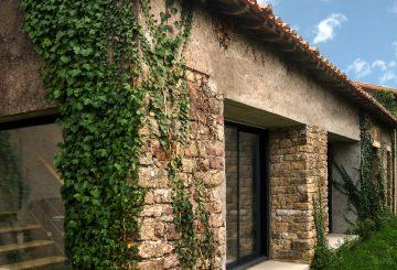 Réhabilitation d'un ancien chai et d'une maison, par PLAST Architectes