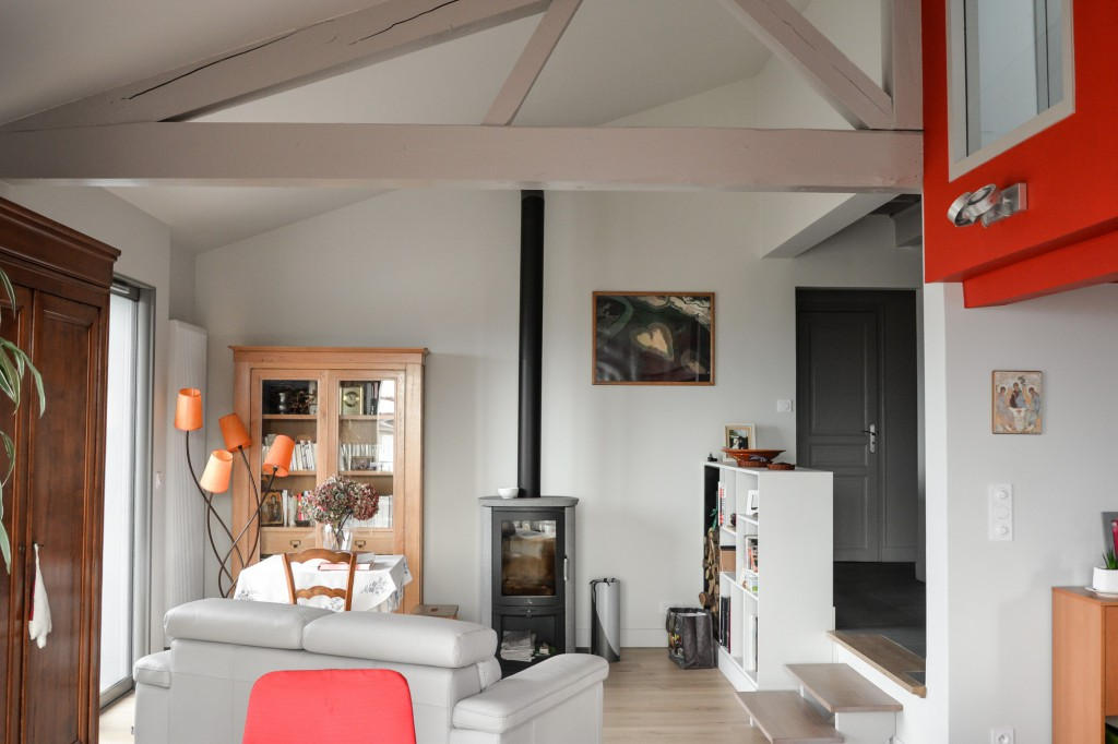 r novation int rieure d une villa par genevrier maison d 39 architecte. Black Bedroom Furniture Sets. Home Design Ideas