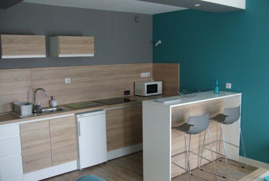 Rénovation et aménagement complet d'un appartement à vocation locative., par Fonteneau Décoration