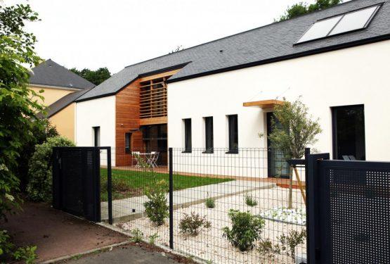 construction d'une maison à ossature bois, par yg-architecte