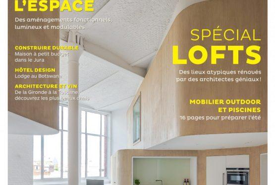 Vivre magazine maison d 39 architecte for Architecture a vivre magazine