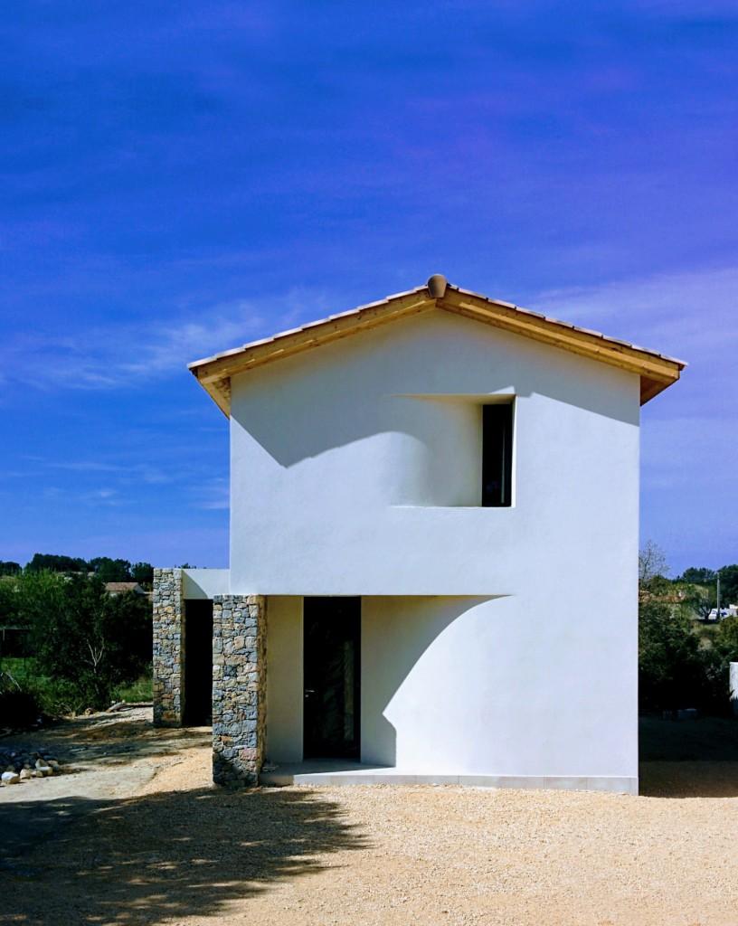 Maison individuelle entre murs par thomas devog le for Architecte maison individuelle