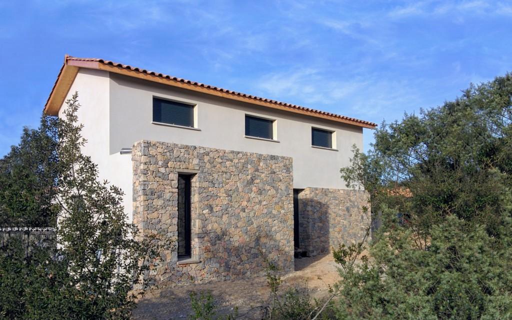 Maison individuelle entre murs par thomas devog le for Architecte nantes maison individuelle