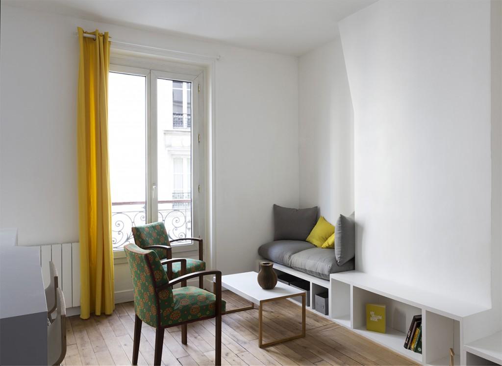 R novation d un appartement par atelier alt r for Appartement atelier