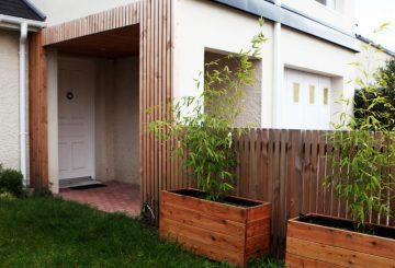 Sur-élévation Maison BC pour créer un bureau, par yg-architecte