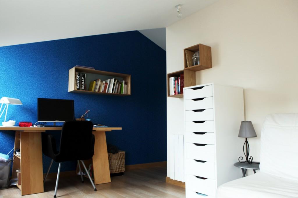sur l vation maison bc pour cr er un bureau par yg architecte maison d 39 architecte. Black Bedroom Furniture Sets. Home Design Ideas