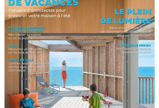 ARCHITECTURES À VIVRE n°95 • en kiosque le 14 avril, par À vivre Magazine