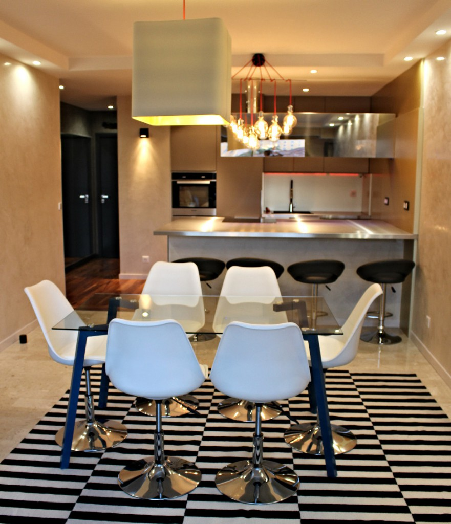 r novation d un appartement nice par casavog maison d 39 architecte. Black Bedroom Furniture Sets. Home Design Ideas