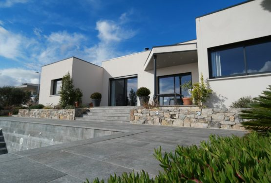 La villa carrée, par Amélie Soriano Architecte