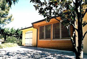 Extension Bois, par Luc ANTOINE architecte