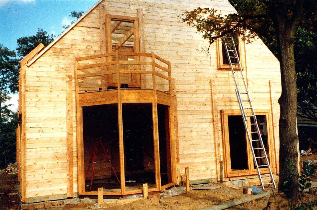 Maison en bois par luc antoine architecte maison d for Architecte maison en bois