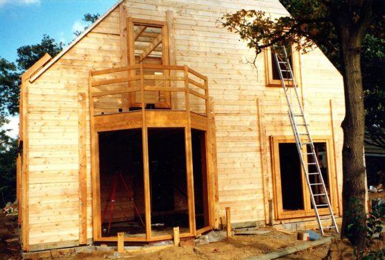 Maison en bois, par Luc ANTOINE architecte
