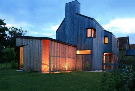 COUDEVILLE-SUR-MER – Une maison, par LEMÉROU ARCHITECTURE