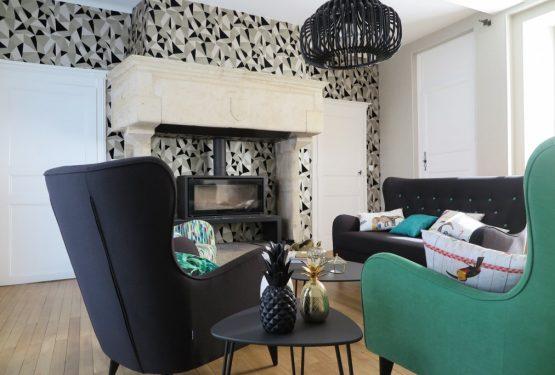 Rénovation, décoration & agencement d'un salon, par Mon Joli Chez-Moi