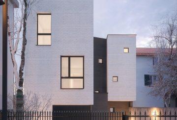 Maison contemporaine à Enghien Les Bains, par Fabrice Commerçon
