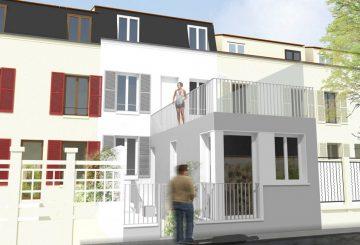 Rénovation et extension d'une maison ouvrière // Fontenay-sous-Bois, par Studio SCOP