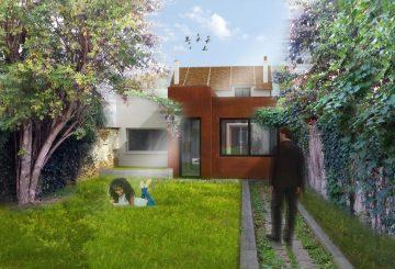 Rénovation et extension d'une maison de ville // Corbeil (91), par Studio SCOP