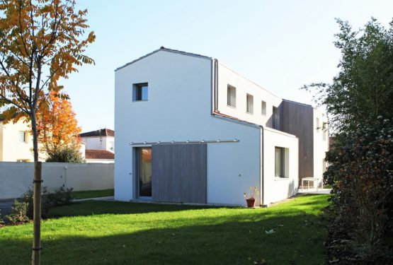 construction d'une maison à Clisson, par yg-architecte