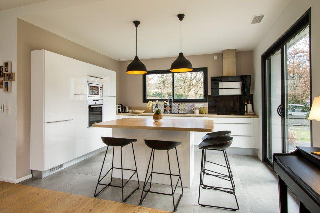 Maison contemporaine par laurence regnier maison d 39 architecte - Idee interieur maison ...