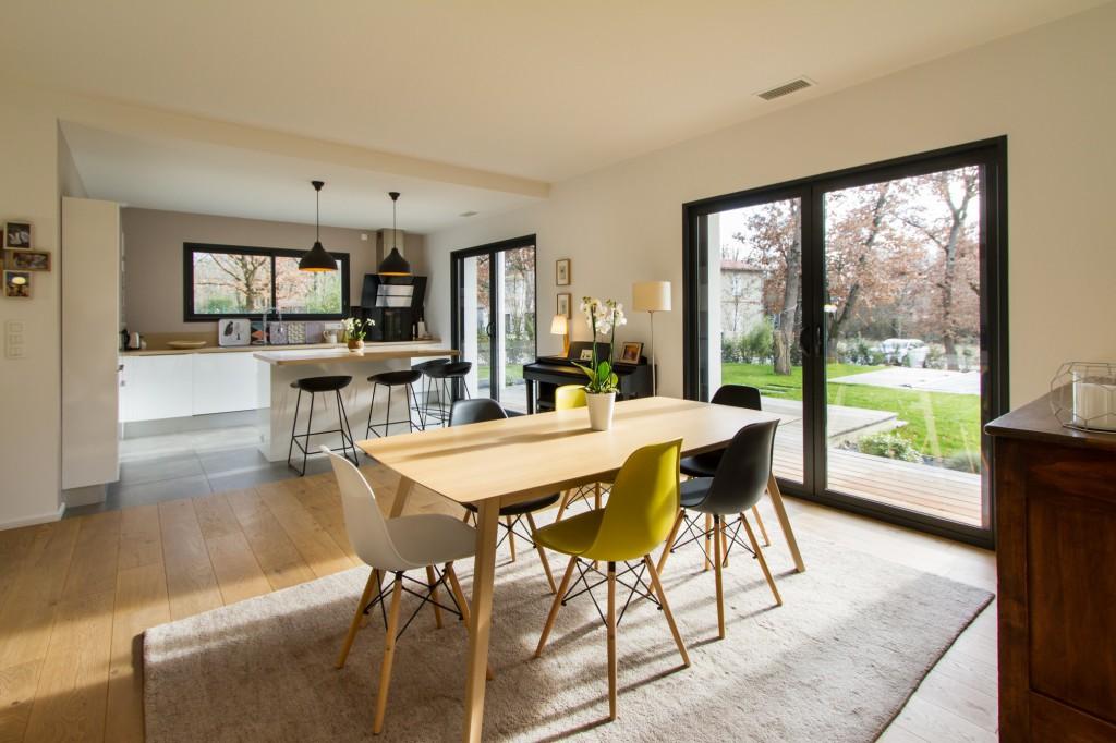 Maison contemporaine, par Laurence REGNIER - Maison d'Architecte
