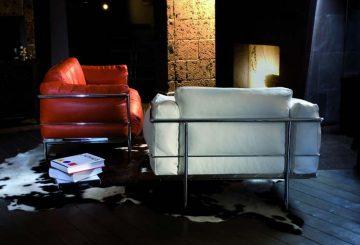 LC2 – La série Grand Confort inspiré par Le Corbusier, par Classic Design Italia