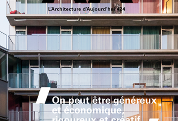 AA n°424, par L'Architecture d'Aujourd'hui