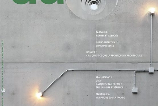 D'architectures N°262, par D'architectures