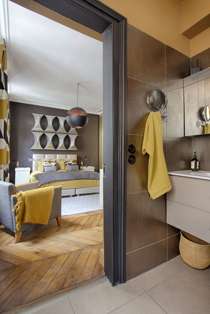 suite parentale paris par 7 familles d coration maison d 39 architecte. Black Bedroom Furniture Sets. Home Design Ideas