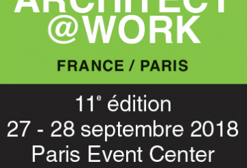 RENDEZ-VOUS KNAUF : ARCHITECT@WORK – PARIS – 27 & 28 SEPTEMBRE, par KNAUF