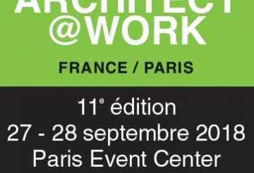 RENDEZ-VOUS KNAUF : ARCHITECT@WORK – PARIS – 27 & 28 SEPTEMBRE, par KNAUF