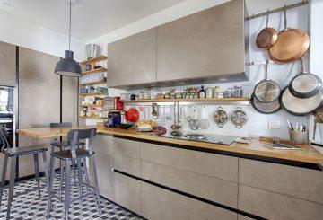 Cuisine privée d'un célèbre chef à Paris, par 7 Familles Décoration