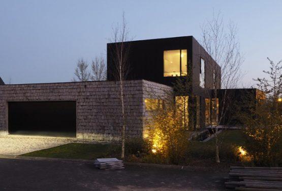 Maison contemporaine, par Riva Architectes