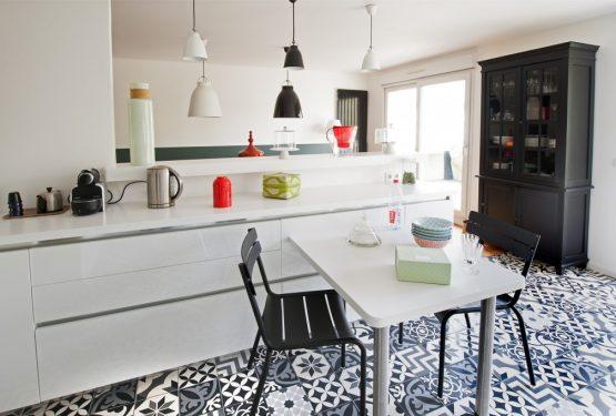 Rajeunissement d'un RDC de villa à Enghien les Bains, par 7 Familles Décoration