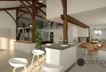 Renovation maison complete, par CADYPSO